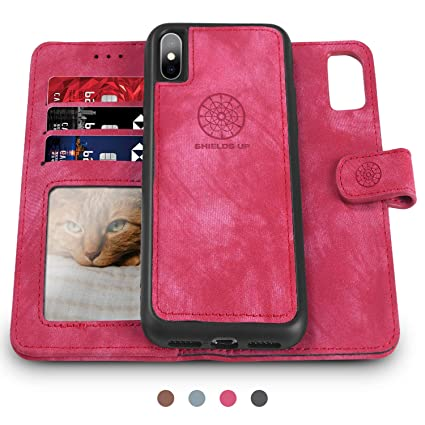 Amazon.com: Shileds Up - Funda tipo cartera para iPhone Xs ...