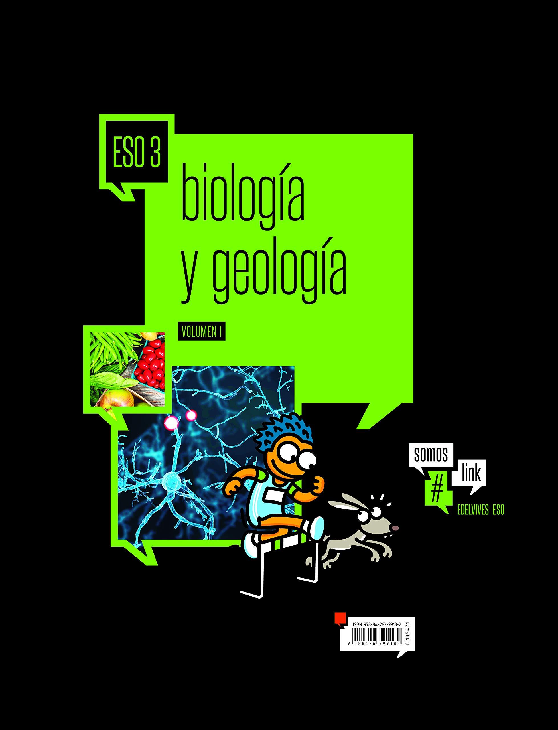 Biologia y Geologia 3º ESO Somoslink - 9788426399182: Amazon.es ...