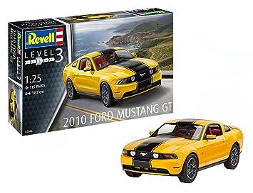 Revell Revell-2010 Maqueta 2010 Ford Mustang GT, Kit Modelo, Escala 1:25 (7046)(07046), 19,2 cm de Largo (