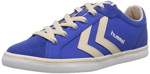 Hummel Deuce Court Summer, Unisex Adults' Low-Top Sneakers, Blue (Turkish