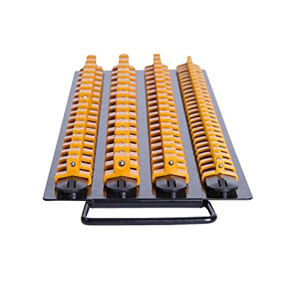 "Inertia Tools 80 Piece Socket Organizer Tray - Holder 24 x 1/2"" drive, 30 x 3/8"" drive, 26 x 1/4"" drive: Home Improvement"