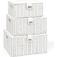 ARPAN–Juego de 3 Cajas de almacenaje de Resina