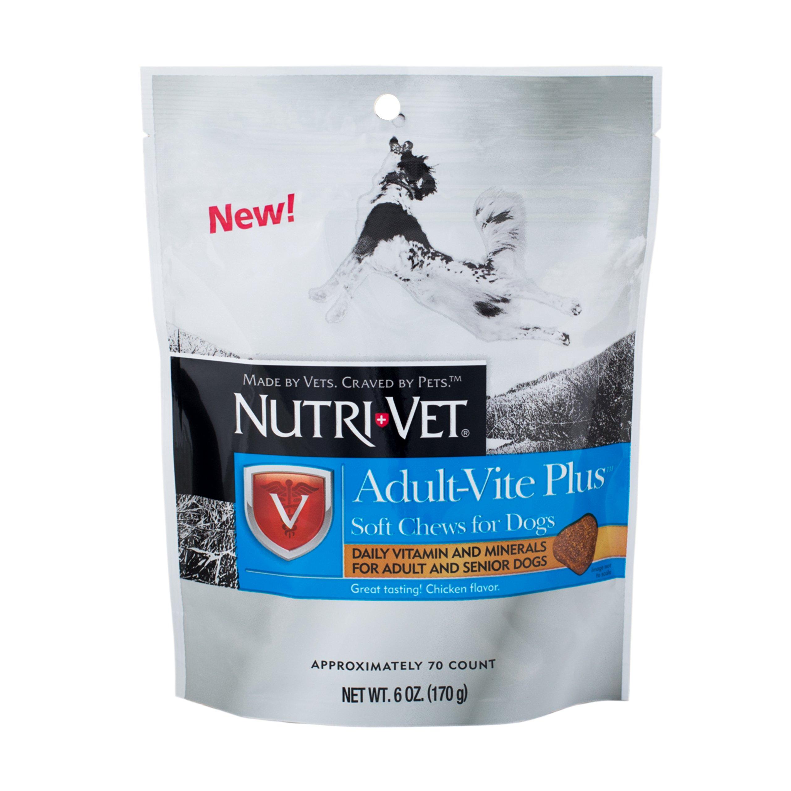 Nutri-Vet Adult-Vite Plus Soft Chews