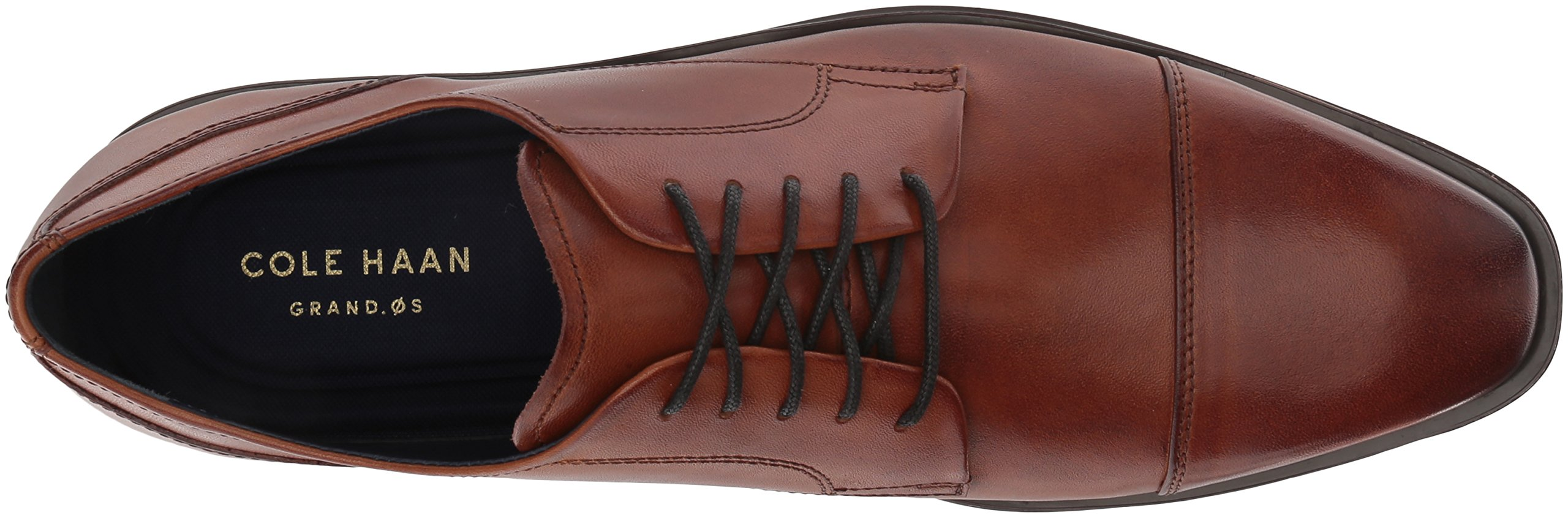 Cole Haan Men's Dawes Grand Cap Toe Oxford, British Tan, 11 Medium US by Cole Haan (Image #8)