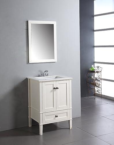 SIMPLIHOME Chelsea 24 inch Contemporary Bath Vanity