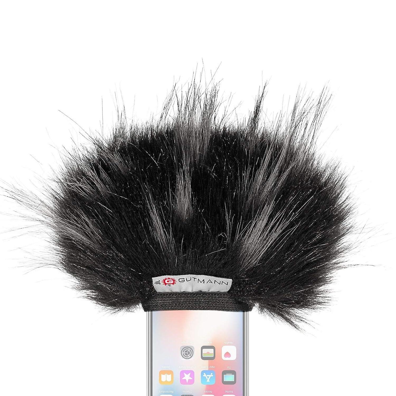 Gutmann Microfono protezione antivento pelo per Apple iPhone 6/6 modello speciale limitato STAR MWS-IP6S