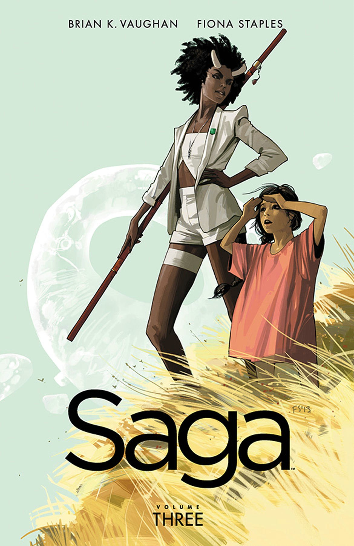 Saga Volume 3: Amazon.co.uk: Vaughan, Brian K, Staples, Fiona:  8601400752357: Books