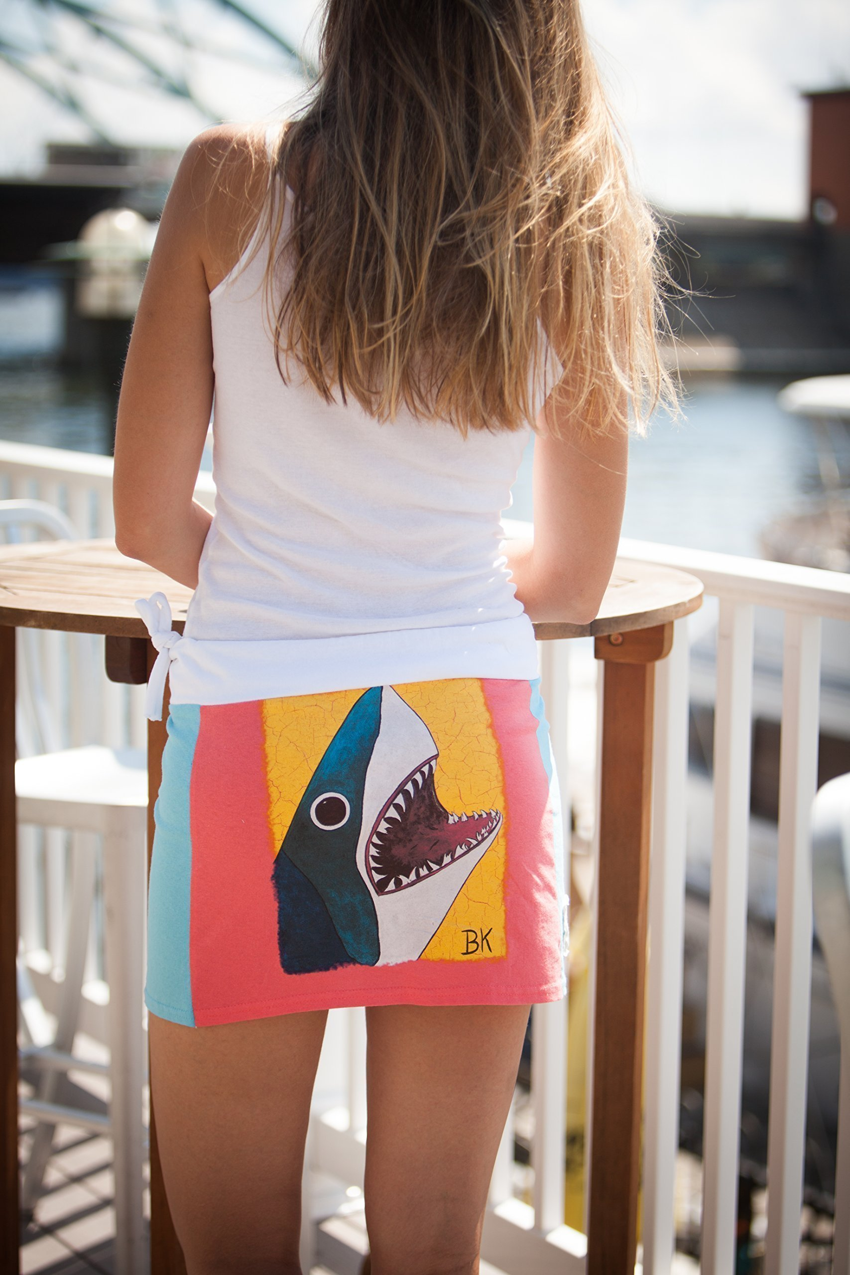 Tee-Skirt Mini BK Shark