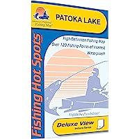 Patoka Lake Fishing Map