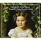 フリードリッヒ・エルンスト・フェスカ:弦楽四重奏曲集 第1集(Friedrich Ernst Fesca:Complete String Quartets Vol. 1)