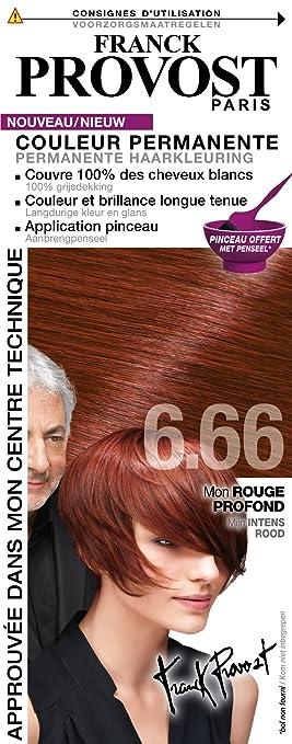 franck provost coloration 666 rouge intense - Franck Provost Coloration