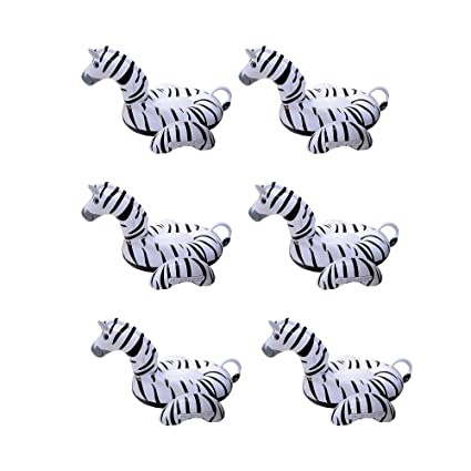 Amazon.com: Swimline Zebra - Flotador hinchable de vinilo ...