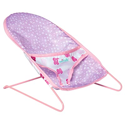 "Manhattan Toy Baby Stella Bouncy Chair Baby Doll Accessory for 12"" and 15"" Dolls: Toys & Games"