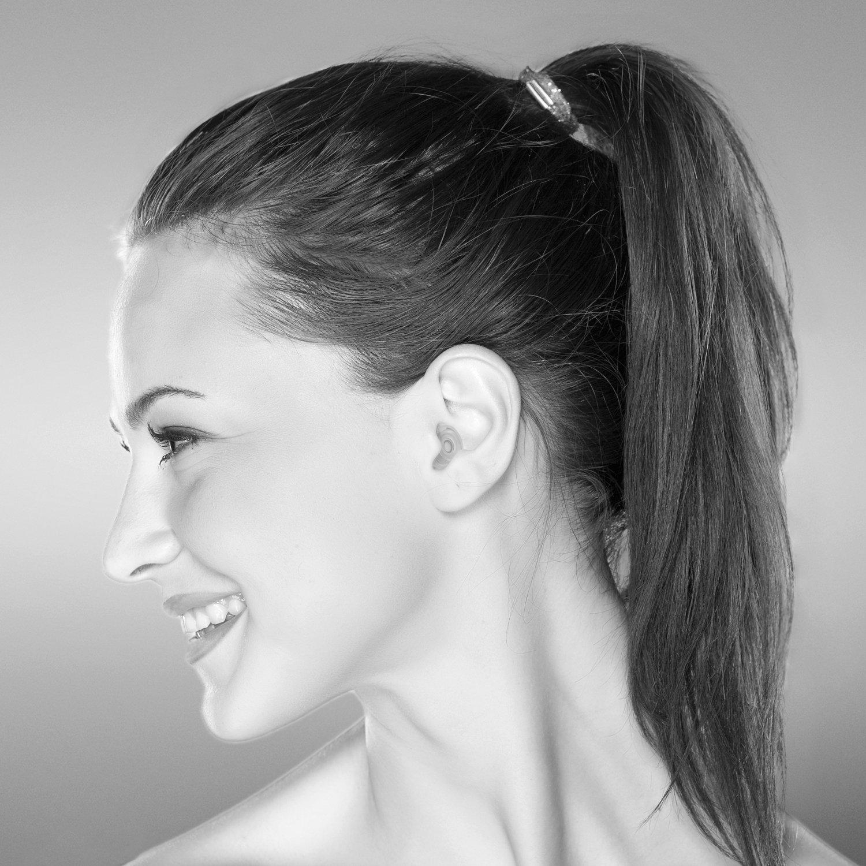 Senner PartyPro tapones transparentes para oídos (SNR 18dB) con soporte de aluminio, para un uso prolongado y repetitivo, con filtro de color transparente: ...
