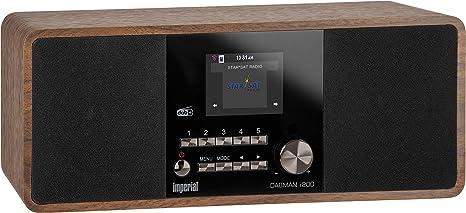 Imperial Dabman i200 - Radio (Internet, Digital, Dab,Dab+,FM, 87,5-108 MHz, 174-240 MHz, 20 W)