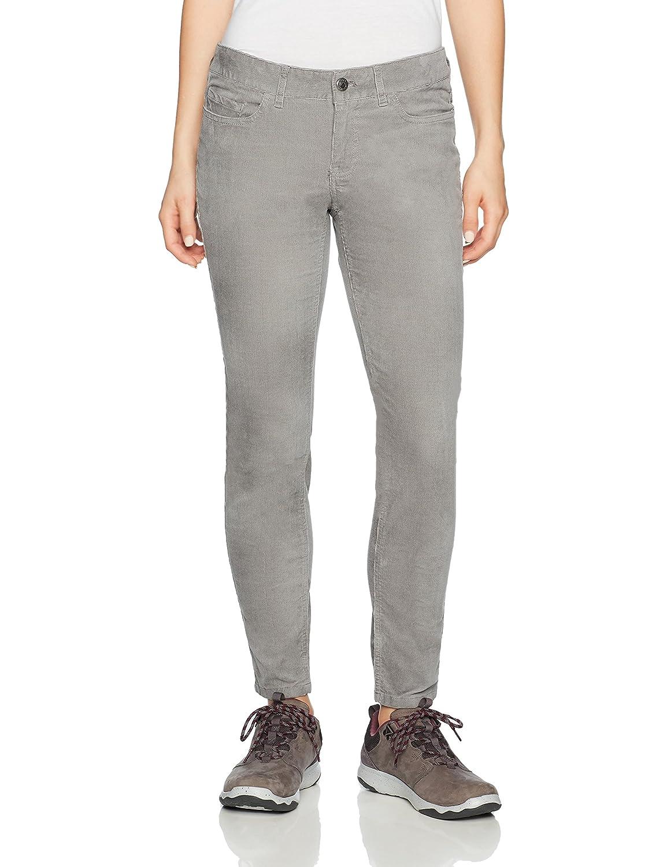 Lunar 0 Petite Mountain Khakis Women's Canyon Cord Skinny Slim Fit Pants