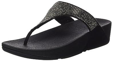 a420193e9 Fitflop Women s Slinky Rokkit Post T-Bar Sandals  Amazon.co.uk ...