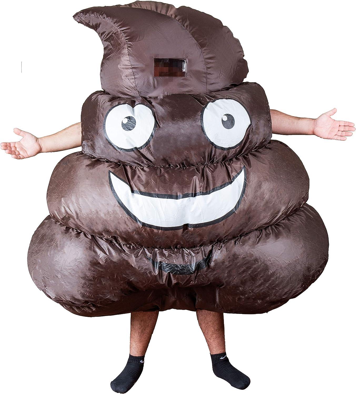 Homarden Disfraz de Emoji Inflable para Halloween, para Hombres y ...