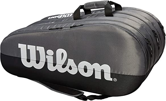 Wilson Bolsa para raquetas de tenis, Team, 3 compartimentos, Hasta ...