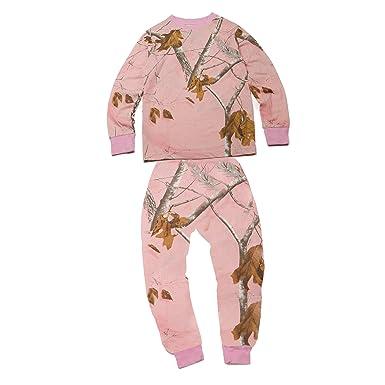 243fd4ff3 Amazon.com: Realtree Soft Premium Boys 100% Cotton Camo Kids Pajama Set:  Clothing