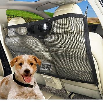 Red aislante de seguridad para mascotas de 45 x 24 pulgadas de Bureze para viajes,