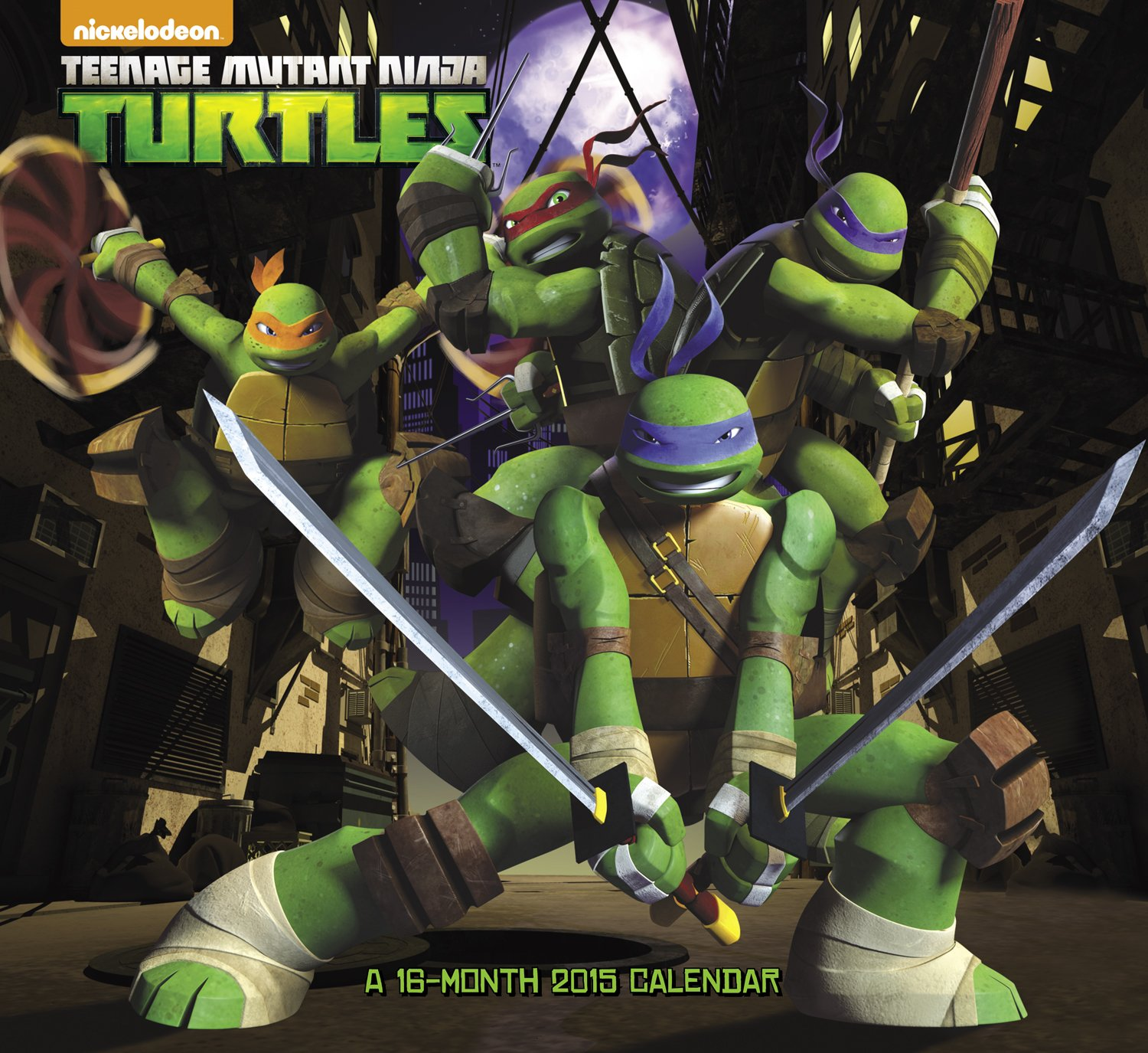 Teenage Mutant Ninja Turtles 2015 Calendar: Amazon.es: Acco ...