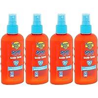 Banana Boat Sport Quik Dri Scalp Spray SPF 30, 6 fl oz (177 ml) (Bundle of 4)