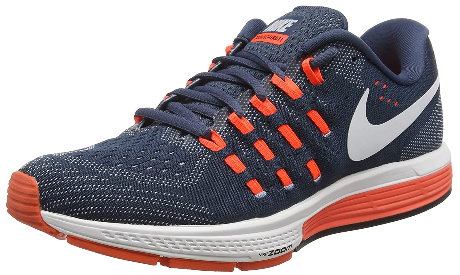 Nike Men's Air Zoom Vomero 11 Running Shoes B01CEJ3ITE 12 D(M) US|Squadron Blue/Blue Grey/Total Crimson/White