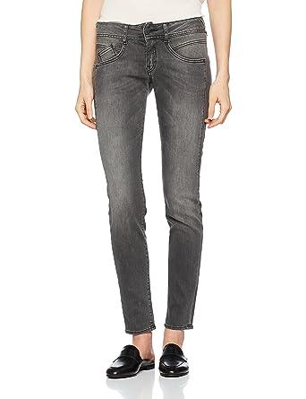 Herrlicher damen jeans schwarz