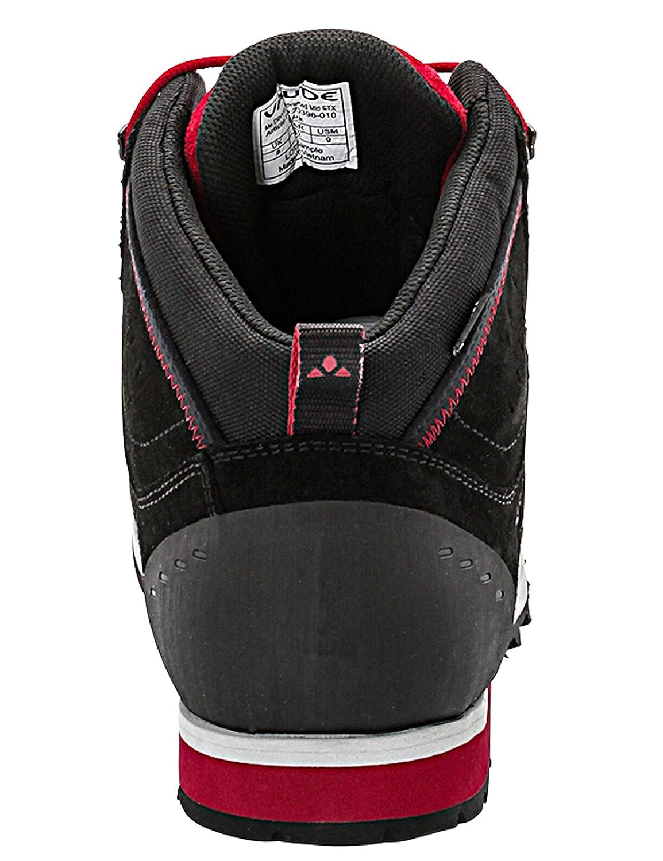 Vaude Men's Dibona Advanced Mid STX, Chaussures Multisport Outdoor Homme, (Black), 41 EU