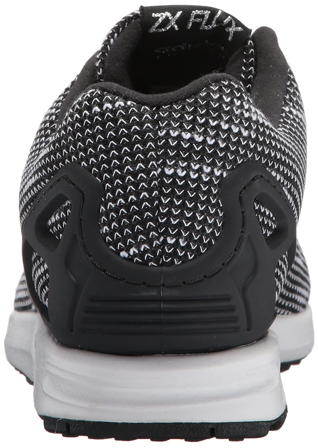 adidas Originals Men's ZX Flux Fashion Sneaker B06XX43G69 4 D(M) US|Black/Black/White