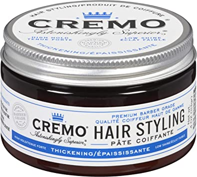 Cremo Premium Barber Grade Hair Styling Cream Medium Hold Amazon Ca Beauty