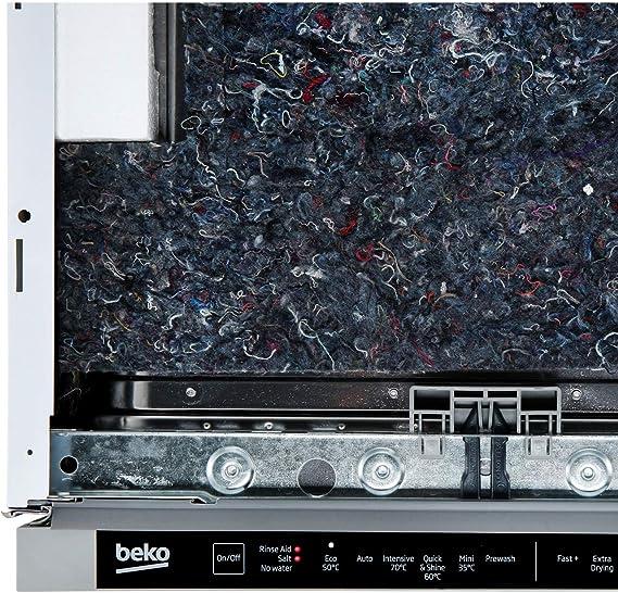 Beko DIS16R10 - Lavavajillas totalmente integrado, panel de ...