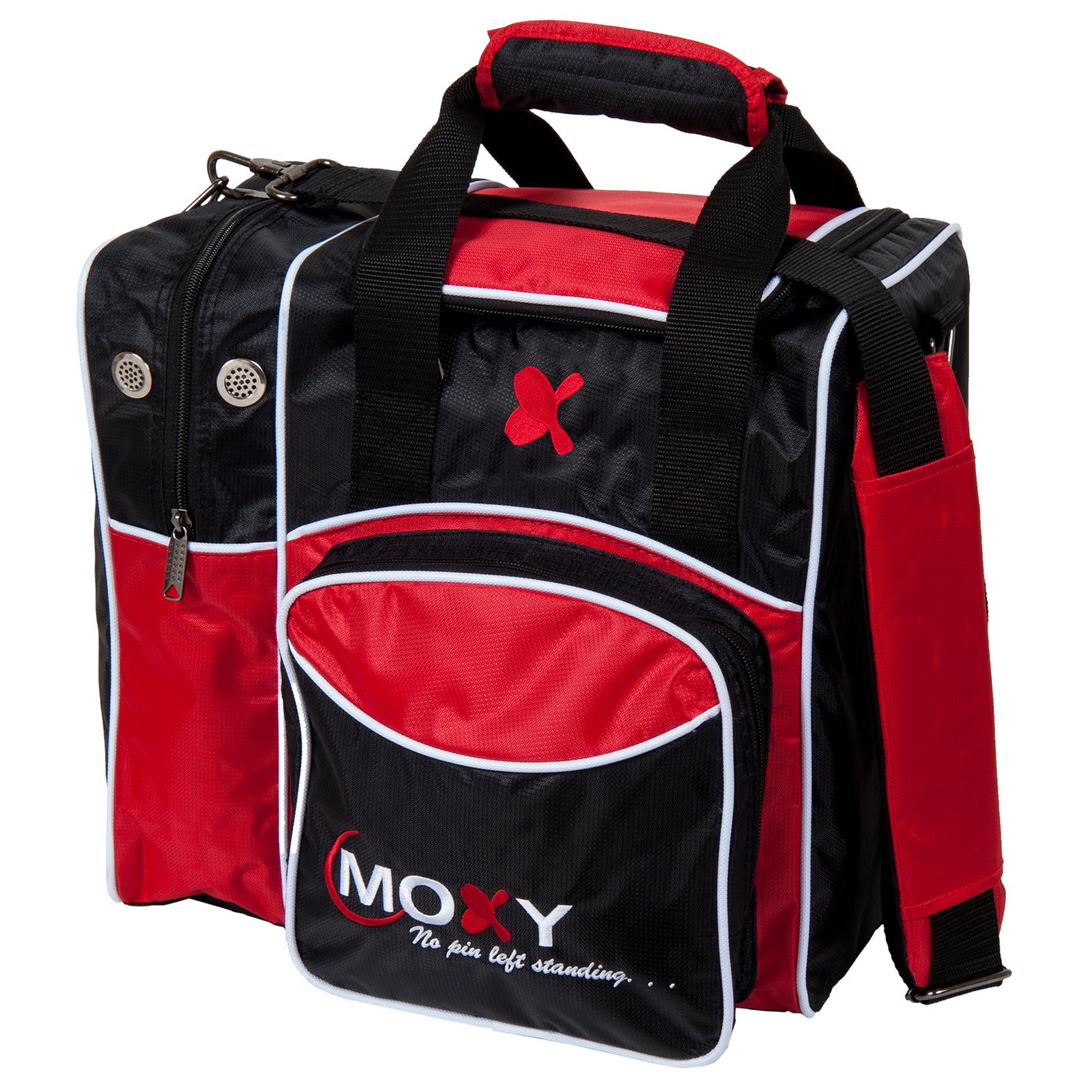 Moxy Bowling Products Single Deluxe Bowling Bag (Red)
