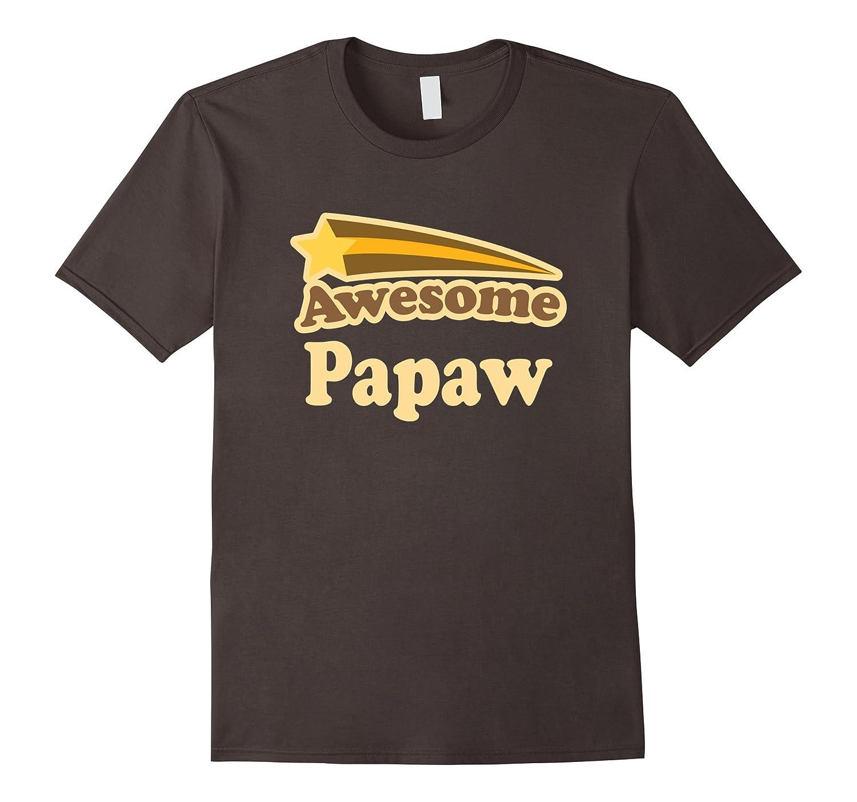 Men's Papaw Awesome Grandpa Fathers Day T-shirt