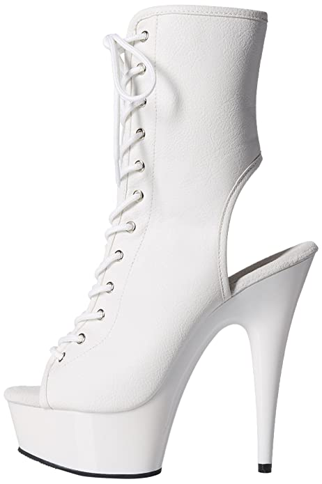Choose SZ//Color. Pleaser DEL1016//WPU//M Womens Boot