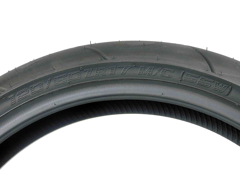 1 Front 120//70ZR17 /& 1 Rear 180//55ZR17 Full Bore Super Bike F2 Tire set tires pair 120//70-17 180//55-17