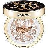 AEKYUNG AGE 20's Original 68% Essence Cover Cushion Foundation Pact SPF 50+ #23 BEIGE (0.44 oz)