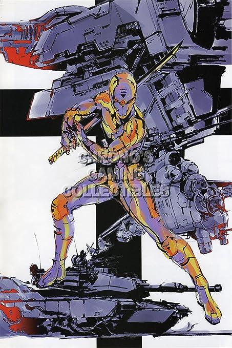 CGC enorme cartel - Metal Gear Solid PS1 Nintendo GC - gris ...