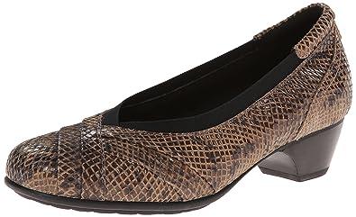 0cab9518d6 Amazon.com | Aravon Women's Patsy-AR Taupe Snake 7 B US | Shoes