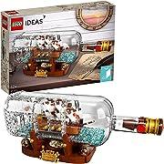 Trascorri nel divertimento questi noiosi pomeriggi di coronavirus con questa originale idea Lego da costruire: Una nave in bottiglia!