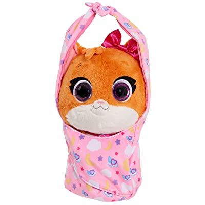 Disney Jr T.O.T.S. Cuddle & Wrap Plush - Mia The Kitten: Toys & Games