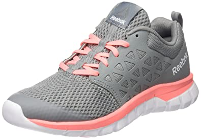 Reebok Women's Sublite Xt Cushion 2.0 Mt Grey/Melon/White.Pewter Running  Shoes
