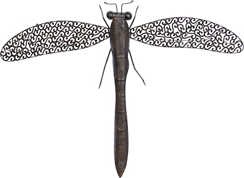 Deco 79 Metal Dragon Fly Excellent Home Interior