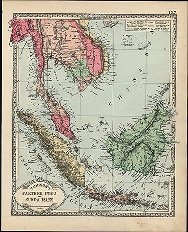 Amazon Com Anam Southeast Asia Malaysia Sunda Islands Cambodia C
