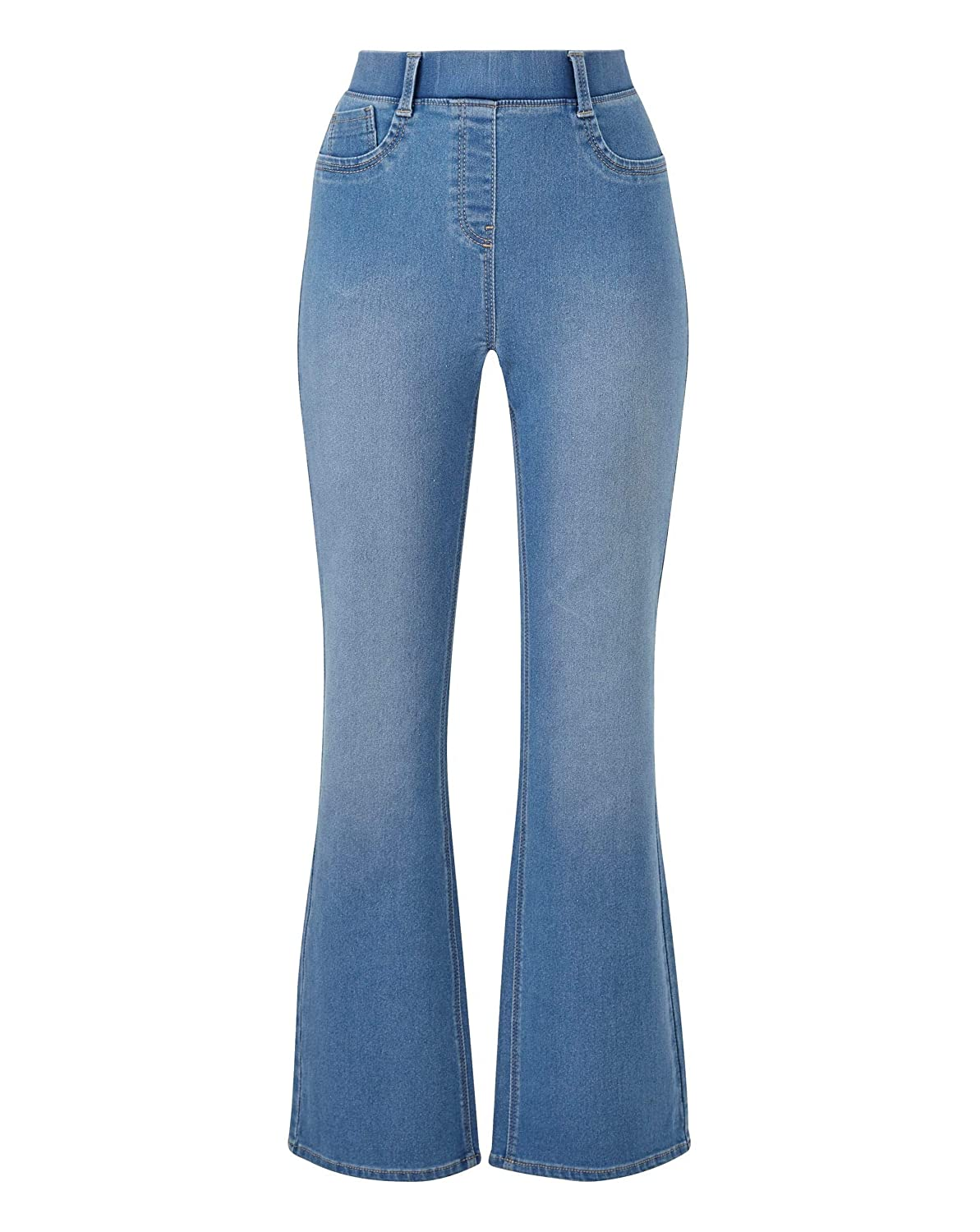 Womens Erin Pull-On Bootcut Jeggings J D Williams
