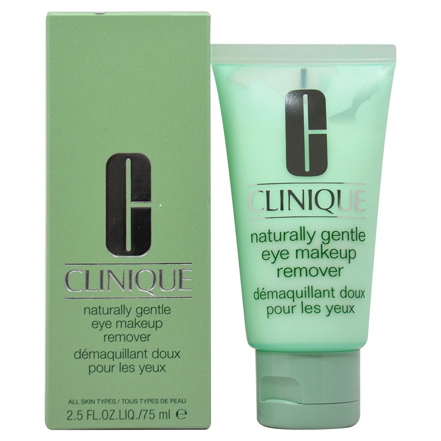CLINIQUE EYE CARE 2.5 OZ NATURALLY GENTLE MAKEUP REMOVER ( CLICOSC7368F301 68F3010000_-75ml