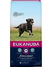 Eukanuba Adult Hundefutter für große Rassen mit neuer und verbesserter Rezeptur – Trockenfutter für Hunde im Alter von 18 Monaten - 6 Jahren in der Geschmacksrichtung Huhn