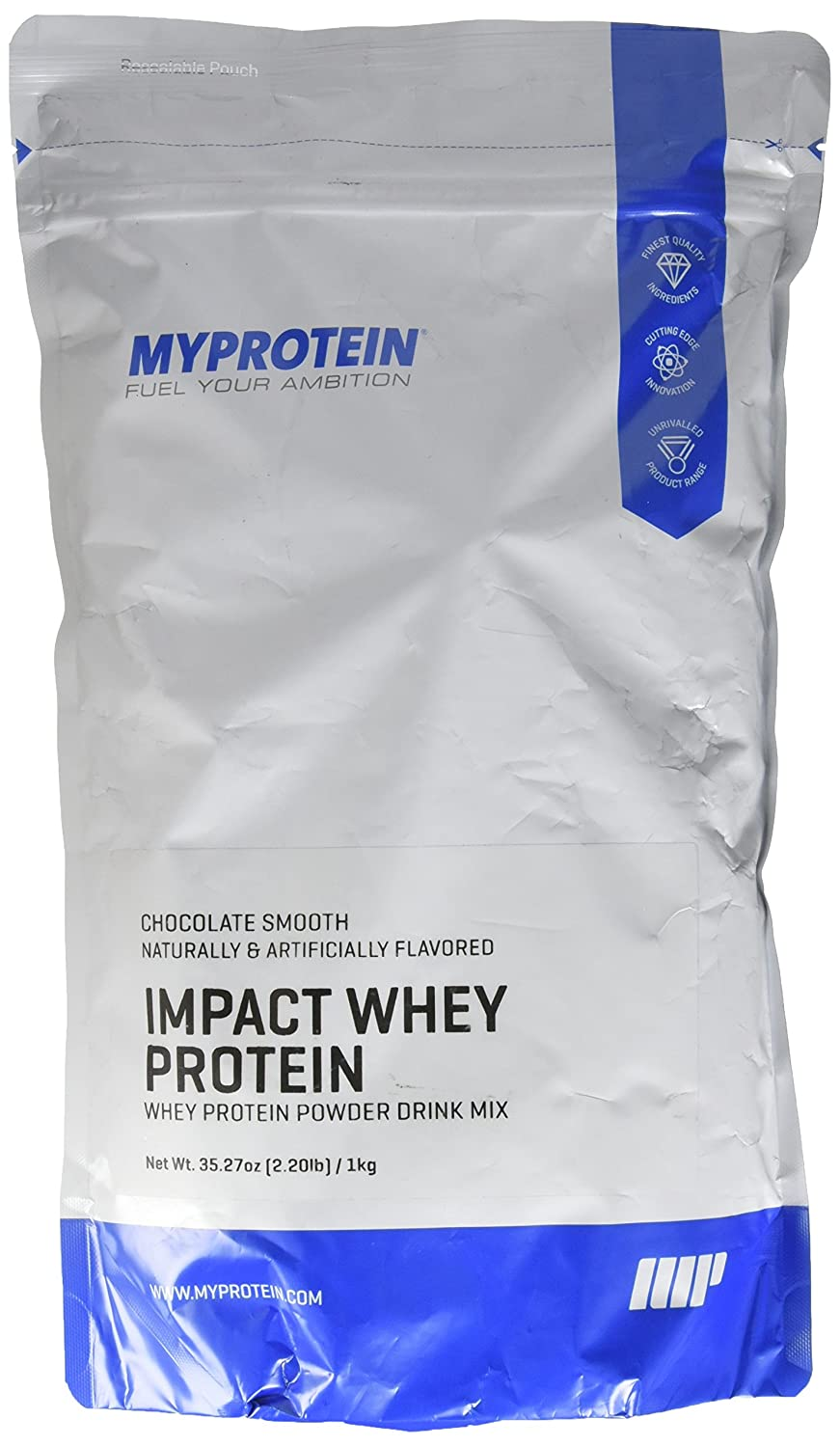 Amazon.com: MyProtein Impact Whey Protein , Mocha Pouch, Size: 2.2lbs: Health & Personal Care