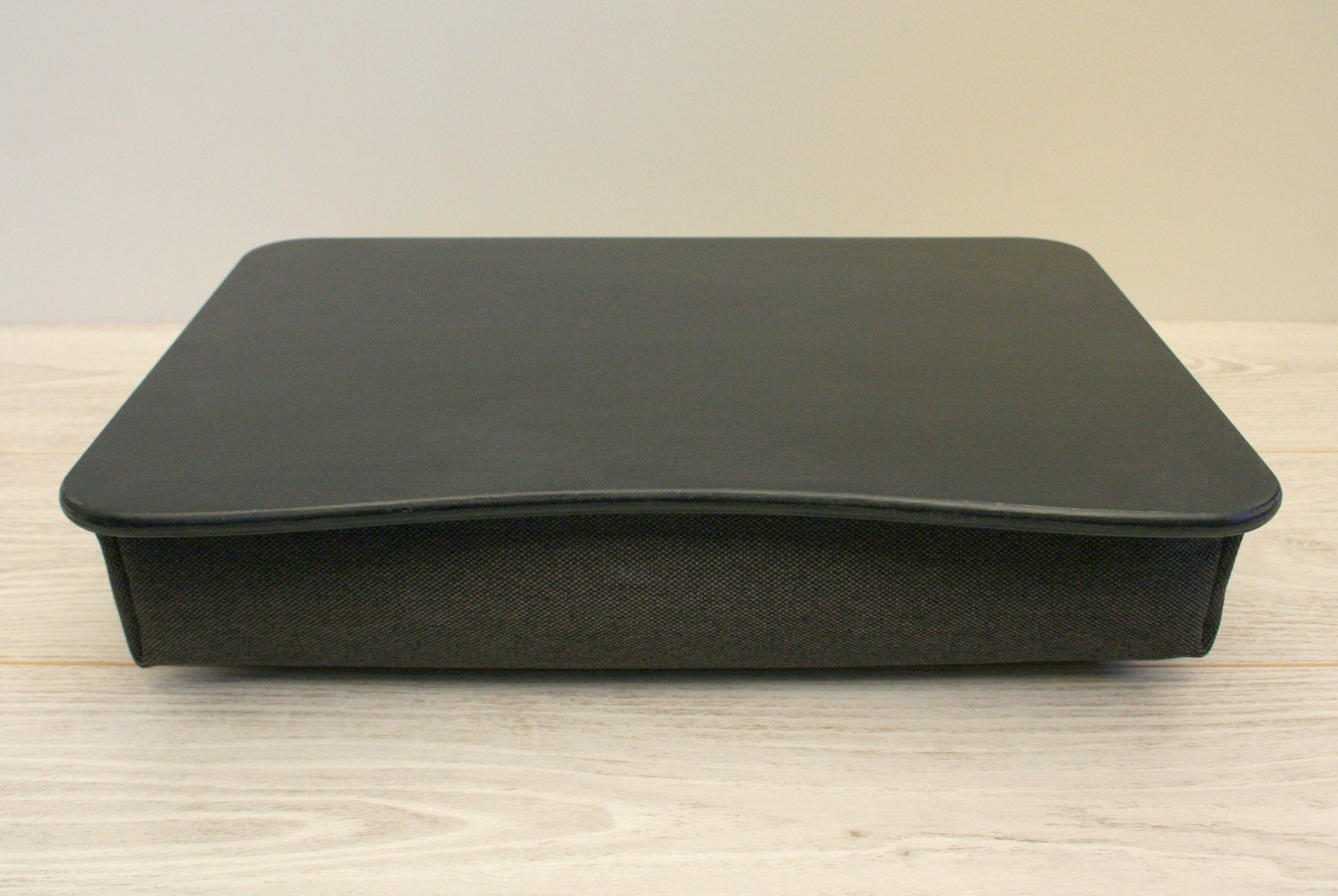 Wood Laptop Stand / Breakfast Tray / Wooden Laptop Bed Tray / Serving Tray / iPad Table / Pillow Tray ''Basic Black''